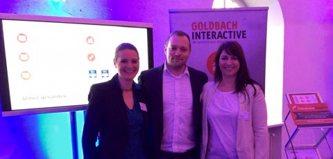 Goldbach Interactive auf der OptEx 2015, der Optimizely Experience in München