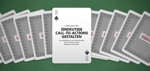 Conversion Optimization: Eindeutige Call-to-Actions gestalten